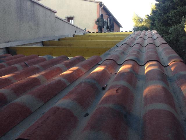 R fection de la toiture gignac la nerthe bouches du rh ne for Tuile de rive maison phenix