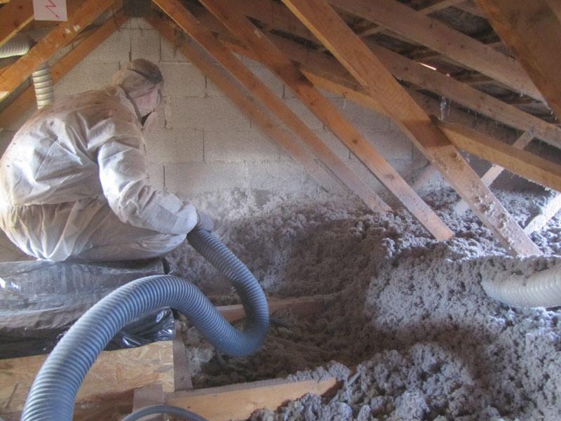 Provence combles isolation 13 isolation des combles perdus - Ouate de cellulose inconvenients ...